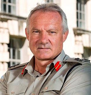 Gordon Messenger Royal Marines general