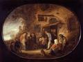 """Genremåleri, """"Majbruden"""" av Isaac van Ostade - Hallwylska museet - 13185.tif"""