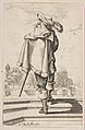 Gentleman in a Cape and Plumed Hat Seen from the Back MET DP818061.jpg
