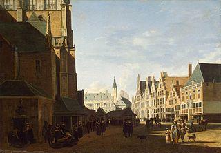 Groote Market in Haarlem