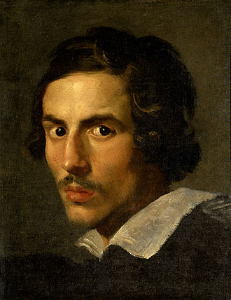 1623 in art - Image: Gian Lorenzo Bernini, self portrait, c 1623