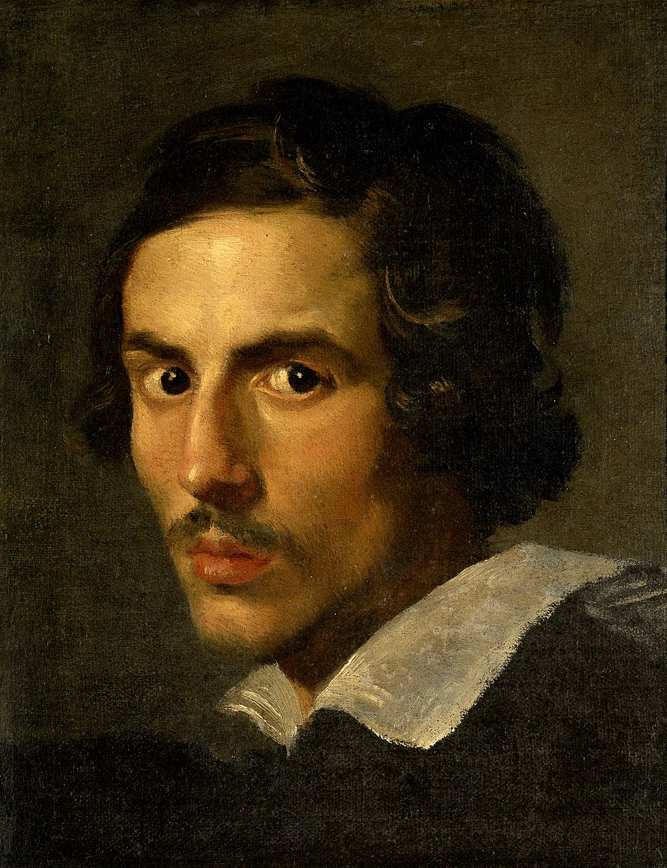 Gian Lorenzo Bernini, self-portrait, c1623