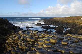 Giant's Causeway - Giant's Causeway at sunset