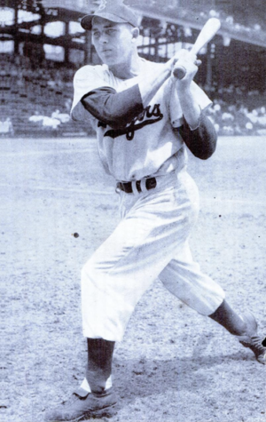 Gil Hodges - Hodges in 1949