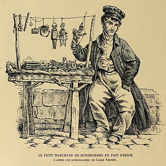 Gingerbread man - Gingerbread salesman (1902)