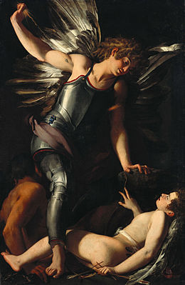 Giovanni Baglione - The Divine Eros Defeats the Earthly Eros - Google Art Project.jpg