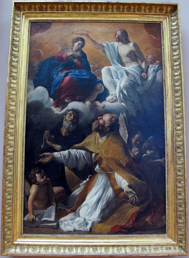 Coronation of the Virgin with St. Augustine and St. William of Aquitaine