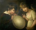 Girl and Boy with a Bladder by William Tate.jpg