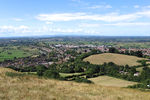 A view of Glastonbury from the Tor