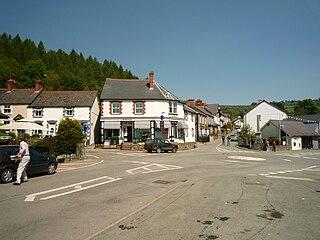 Glyn Ceiriog village in the United Kingdom