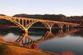 Gold Beach Bridge Peter Murphy (23145374414).jpg