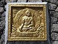 Gold plated Buddha, Shanti Stupa, Leh, Ladakh, 2.jpg