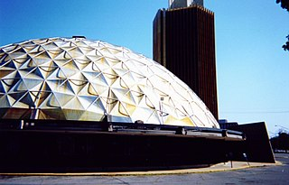 Gold Dome building in Oklahoma, United States