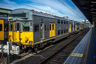CityRail operated the rail network of Sydney, New South Wales, Australia