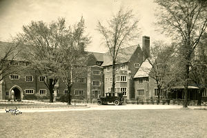 Ridley College - Gooderham House at Ridley College in the 1920s.