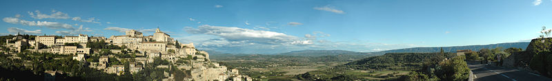 Gordes pano by JM Rosier.JPG