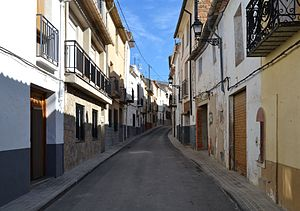 Carrer Major de Gorga