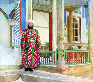 Emirate of Bukhara - A bureaucrat in Bukhara, ca.1910