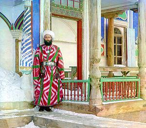 Emirate of Bukhara - A bureaucrat in Bukhara, ca.1910