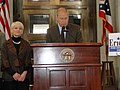 Governor Strickland and Franklin County Commissioner Marilyn Brown (4324864627).jpg