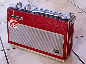 Kurzwellen - Graetz multiband radio receiver from the time of Kurzwellens composition