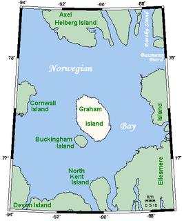 bay in Nunavut, Canada