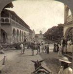 Granada, street scene,x about 1905
