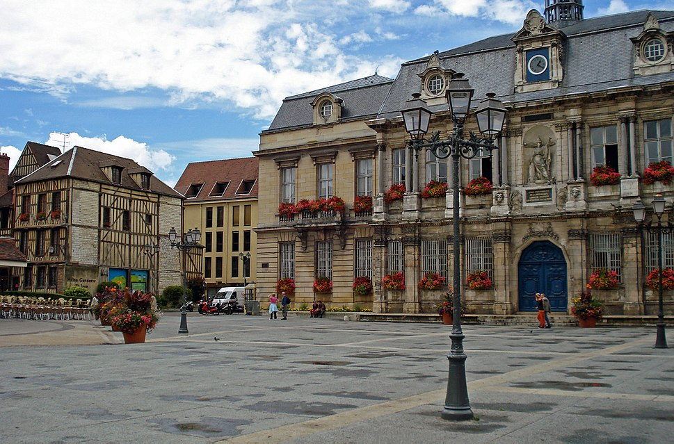 Grande Place in Troyes, France