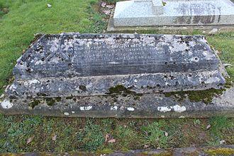 George Charles Brodrick - Grave in Peper Harow, Surrey