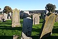 Gravestones in Dipple Graveyard - geograph.org.uk - 1568782.jpg