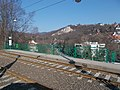 Great bridge, tram stop, view to Apathy Cliff, 2017 Budapest.jpg