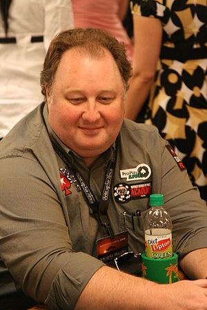 Greg Raymerk at the 2008 World Series of Poker