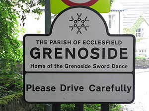 Grenoside - Entry Sign, Main Street