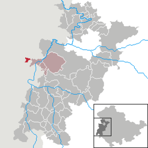 Großensee, Thuringia - Image: Großensee in WAK