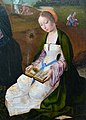 Groeningemuseum Master of the Holy Blood Madonna Saint Barbara 01052015.jpg