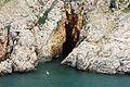 Grotte in der Bucht von Vrbnik .JPG