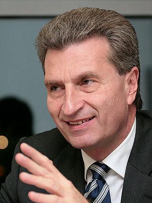 Günther H. Oettinger, former (until 2010-02-10...