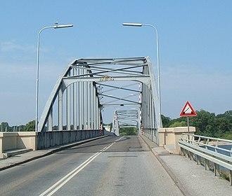 Guldborgsund Bridge - View of bridge deck
