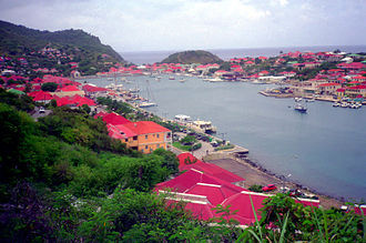 Saint Barthélemy - A view of Gustavia.