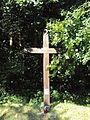 Hájovna na Hlince kříž.JPG