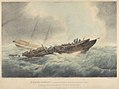 H.M. Brig Serpent, (Commander R.L. Warren) dismasted, Whilst lying at Anchor at Spithead by a Tremendous Hurricane on Tuesday the 29th of Novr 1836 RMG PY0850.jpg