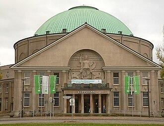 Paul Bonatz - Image: HCC Kuppelsaal Hannover