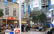 Food court and shops, Halifax International Airport