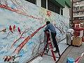 HK 九龍城 Kln City 土瓜灣 To Kwa Wan wall painting graffiti art birds n cloud 落山道 Lok Shan Road 炮仗街 Pau Chung Street 馬頭圍道 Ma Tau Wai Road February 2021 SS2 08.jpg