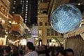 HK 灣仔 Wan Chai 利東街 Lee Tung The Avenue night 月球博物館 big Moon Museum by UK Luke Jerram October 2017 IX1 32.jpg