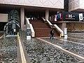 HK TST Salisbury Road Garden rain view Hong Kong Museum of Art stairs n HKMArt escalators Nov-2012.JPG