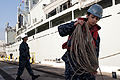HMCS Protecteur, crew arrive safely at Joint Base Pearl Harbor-Hickam 140306-F-AD344-237.jpg