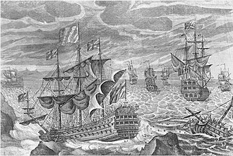 Scilly naval disaster of 1707 - Image: HMS Association (1697)