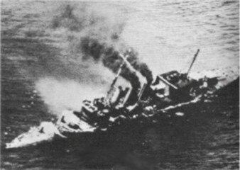 HMS Cornwall - 1942 - WWII