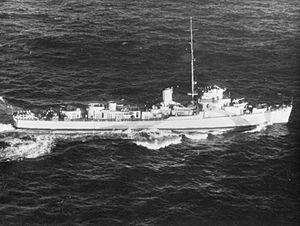 HMS Cosby (K559) IWM FL 8554